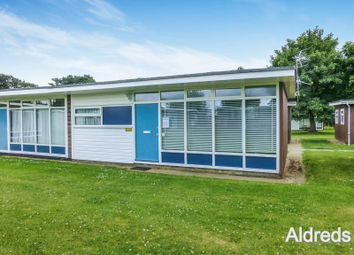 Thumbnail 2 bed semi-detached house for sale in Broadside Chalet Park, Norwich
