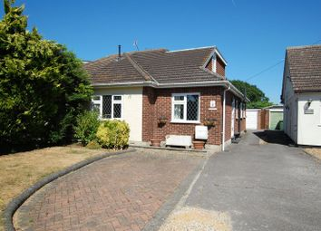 Thumbnail 3 bed semi-detached bungalow for sale in Church Lane, Bulphan, Upminster