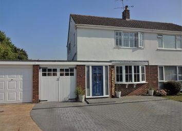 Thumbnail 3 bed semi-detached house for sale in Old Manor Close, Ifield, Crawley