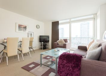 Thumbnail 1 bedroom flat for sale in Canary Central, Cassilis Road, London