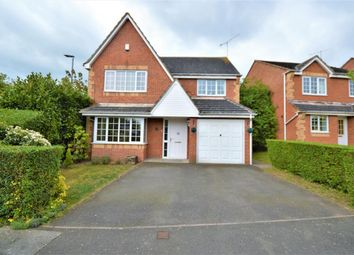 Thumbnail 4 bed detached house for sale in Middletons Close, Fleckney, Leicester