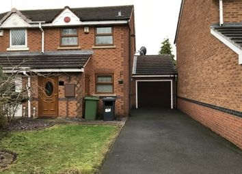 Thumbnail 2 bed property to rent in Coltsfoot Close, Wolverhampton