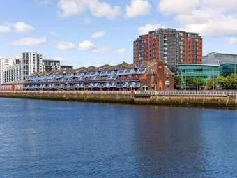 Thumbnail 3 bedroom flat to rent in Lancefield Quay, Finnieston, Glasgow