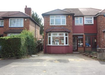 Thumbnail 3 bed semi-detached house to rent in Ashford Avenue, Hayes
