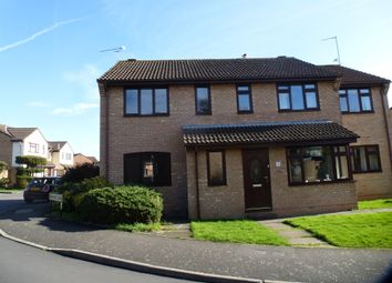Thumbnail 3 bed semi-detached house for sale in Grafton Close, Taunton