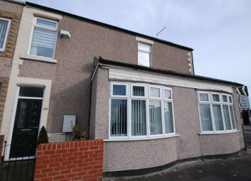 Thumbnail 3 bed terraced house for sale in Half Moon Street, Stakeford, Choppington