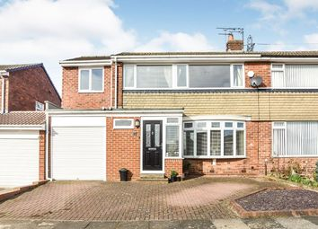 Thumbnail 4 bed semi-detached house for sale in Cayton Grove, Chapel House, Newcastle Upon Tyne