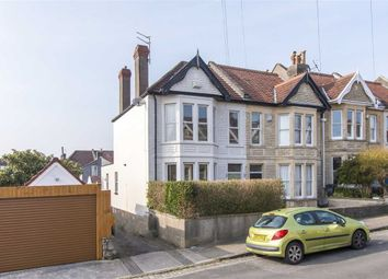 Thumbnail 3 bed end terrace house for sale in Russell Road, Westbury Park, Bristol