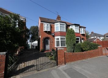 Thumbnail 4 bed semi-detached house for sale in Birklands Drive, Hull