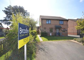 Thumbnail 2 bedroom end terrace house to rent in Miller Way, Exminster, Devon