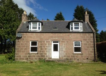 Thumbnail 3 bed detached house to rent in Lochton Croft Cottage, Raemoir Road, Banchory