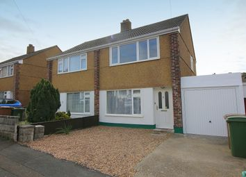 Thumbnail 3 bed semi-detached house to rent in Dolphin Close, Plymstock, Plymouth