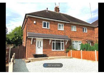 Thumbnail 3 bedroom semi-detached house to rent in Lodge Road, Stoke-On-Trent