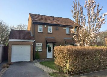 Thumbnail 2 bed semi-detached house for sale in Jenkins Close, Staddiscombe, Plymouth, Devon