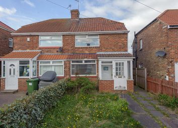 Thumbnail 2 bed semi-detached house for sale in Bywell Gardens, Lobley Hill, Gateshead