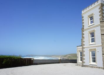Thumbnail 2 bed flat to rent in Cliff Road, Perranporth