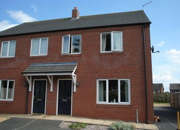 Thumbnail 3 bed semi-detached house to rent in Draycott Close, Market Drayton