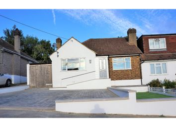 Thumbnail 2 bed semi-detached bungalow for sale in Hill View Road, Longfield
