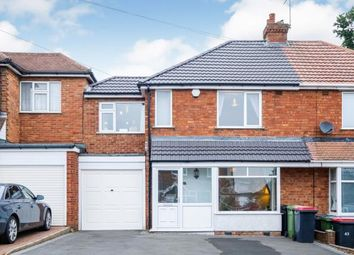 Thumbnail 3 bed semi-detached house for sale in Rose Road, Coleshill, Birmingham, .