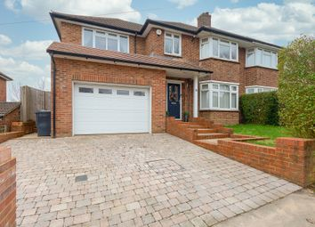Thumbnail 4 bed semi-detached house for sale in Derwent Drive, Purley, Surrey