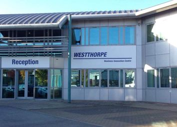 Thumbnail Office to let in Westthorpe Business Innovation Centre, Killamarsh