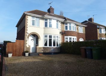 Thumbnail 3 bed semi-detached house for sale in Hodney Road, Eye, Peterborough