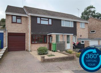 Moorland Way, Exwick, Exeter EX4. 3 bed semi-detached house