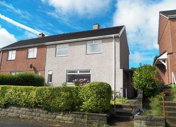 Thumbnail 2 bed semi-detached house for sale in Pensalem Road, Penlan, Swansea