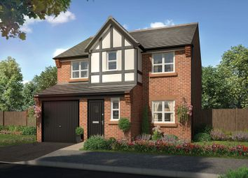 Thumbnail 4 bed detached house for sale in Gunco Lane, Macclesfield