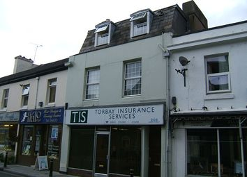 Thumbnail 1 bed duplex to rent in Union Street, Torquay