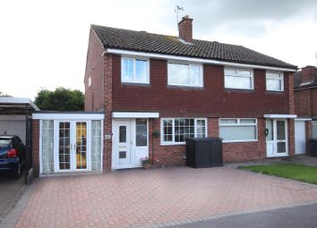 Thumbnail 3 bed semi-detached house for sale in Draycott Drive, Mickleover, Derby