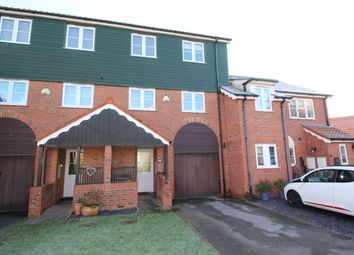 Thumbnail 4 bed terraced house for sale in The Moorings, Burton Waters, Lincoln