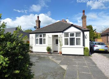Thumbnail 3 bed detached bungalow for sale in Crewe Road, Wistaston, Crewe