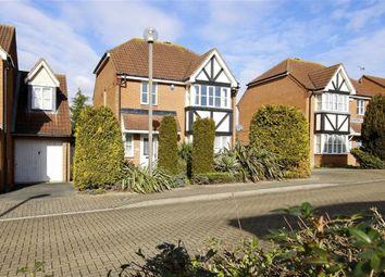 Thumbnail 3 bedroom detached house for sale in Walkhampton Avenue, Bradwell Common, Milton Keynes, Bucks