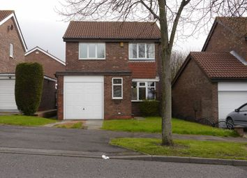 Thumbnail 3 bed detached house to rent in Romsey Grove, Newcastle Upon Tyne