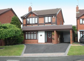 Thumbnail 4 bedroom detached house for sale in Ploverdale Crescent, Kingswinford