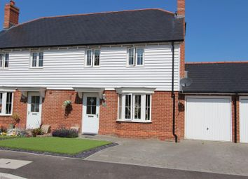 Thumbnail 3 bed semi-detached house for sale in Ringlet Grove, Iwade, Sittingbourne