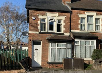 Thumbnail 2 bed end terrace house to rent in Rosary Road, Erdington, Birmingham