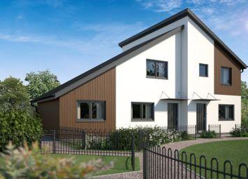 Thumbnail 2 bed semi-detached house for sale in Park Close, Silfield, Wymondham