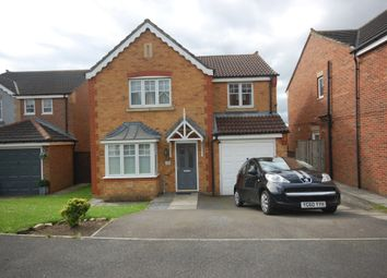 Thumbnail 4 bed detached house for sale in Welby Drive, Ushaw Moor, Durham