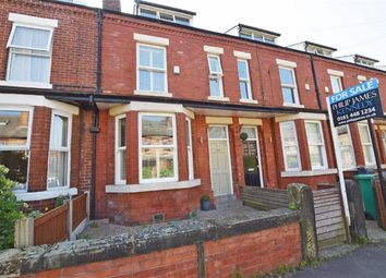 Thumbnail 4 bed terraced house for sale in Leopold Avenue, West Didsbury, Manchester