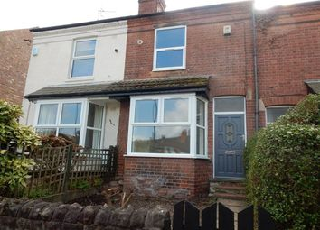 Thumbnail 3 bed terraced house to rent in Burnham Street, Nottingham