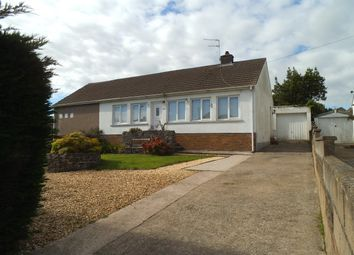 Thumbnail 2 bed semi-detached bungalow for sale in Shakespeare Avenue, Cefn Glas, Bridgend