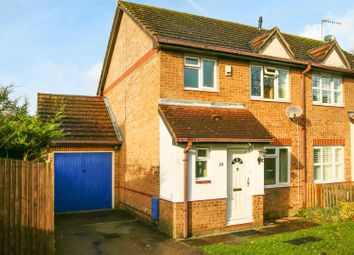 Thumbnail 3 bed semi-detached house for sale in Hamblings Close, Shenley, Radlett