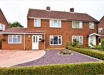Thumbnail 4 bed semi-detached house for sale in Long Grove, Tadley