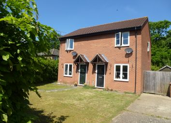 Thumbnail 2 bedroom semi-detached house for sale in Oak Close, Fornham St. Martin, Bury St. Edmunds