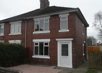 Thumbnail 2 bedroom semi-detached house to rent in Gordon Road, Stoke On Trent, Staffordshire