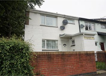 Thumbnail 3 bed end terrace house for sale in Shakespeare Rise, Pontypridd