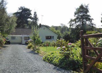Thumbnail 3 bed detached bungalow for sale in Mount Pleasant, Loggerheads, Market Drayton