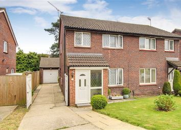 Thumbnail 3 bed semi-detached house for sale in Wooding Grove, Tollgate Hill Borders, Crawley